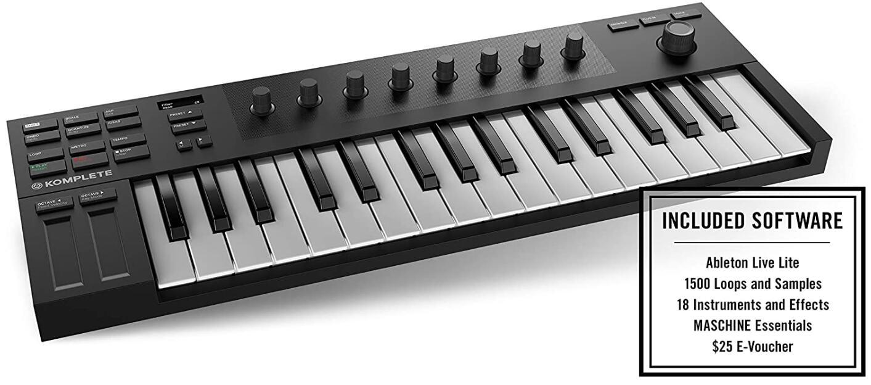 native instruments midi controller keyboard
