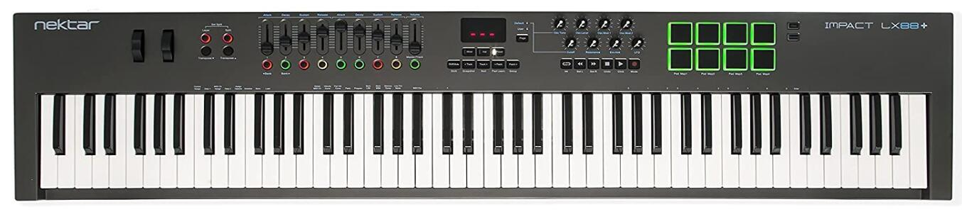 nektar 88 key midi keyboard