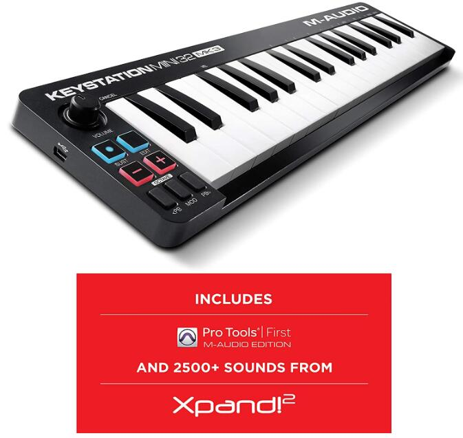 portable midi keyboard 32 key
