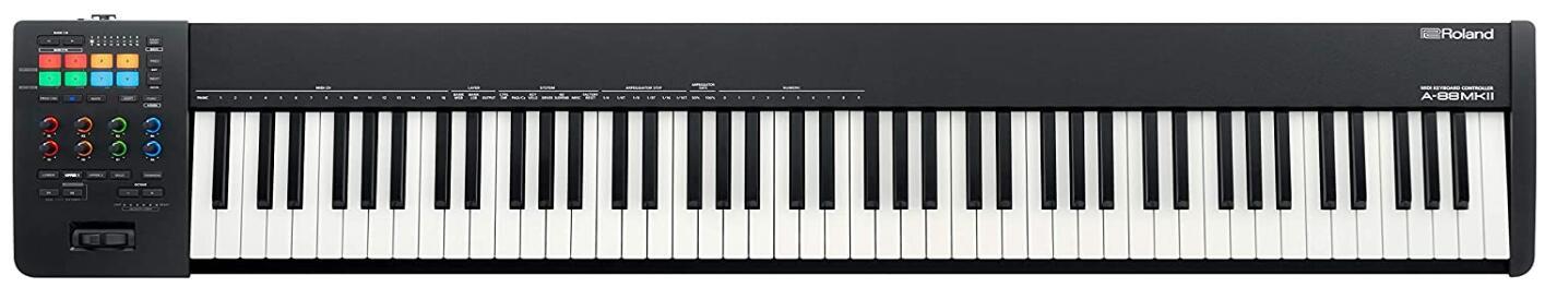 roland 88 key midi controller