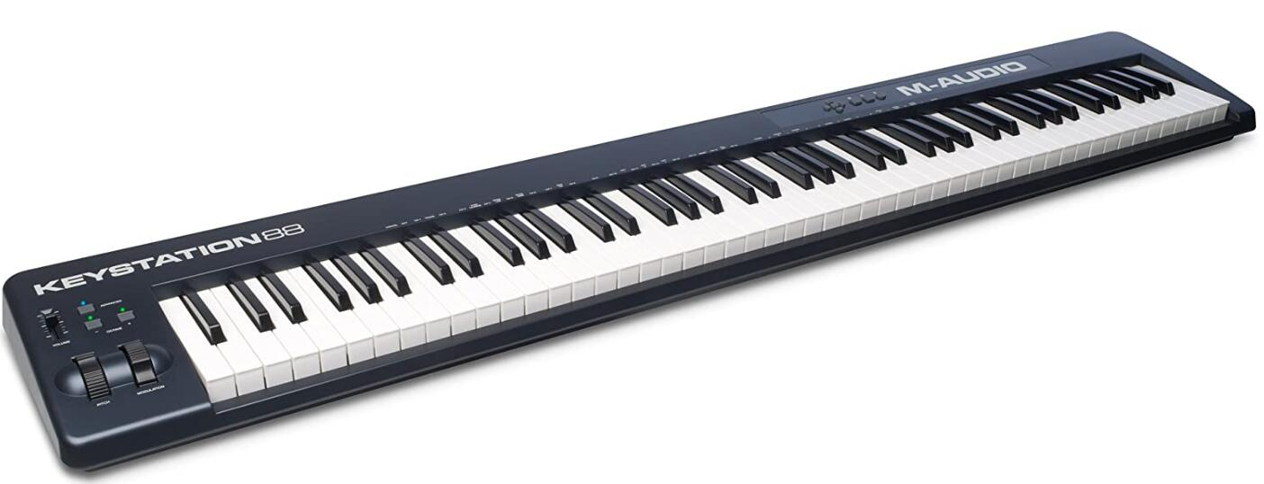 weighted 88 key midi controller