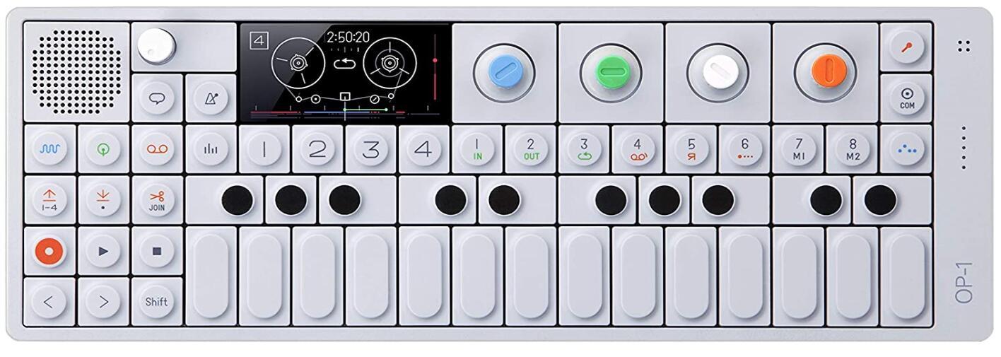 Mini Portable Synth controller fm radio