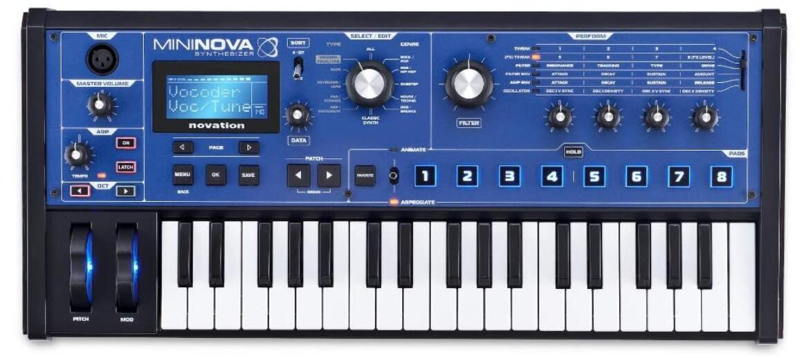 Novation Mini Nova Analog Synth