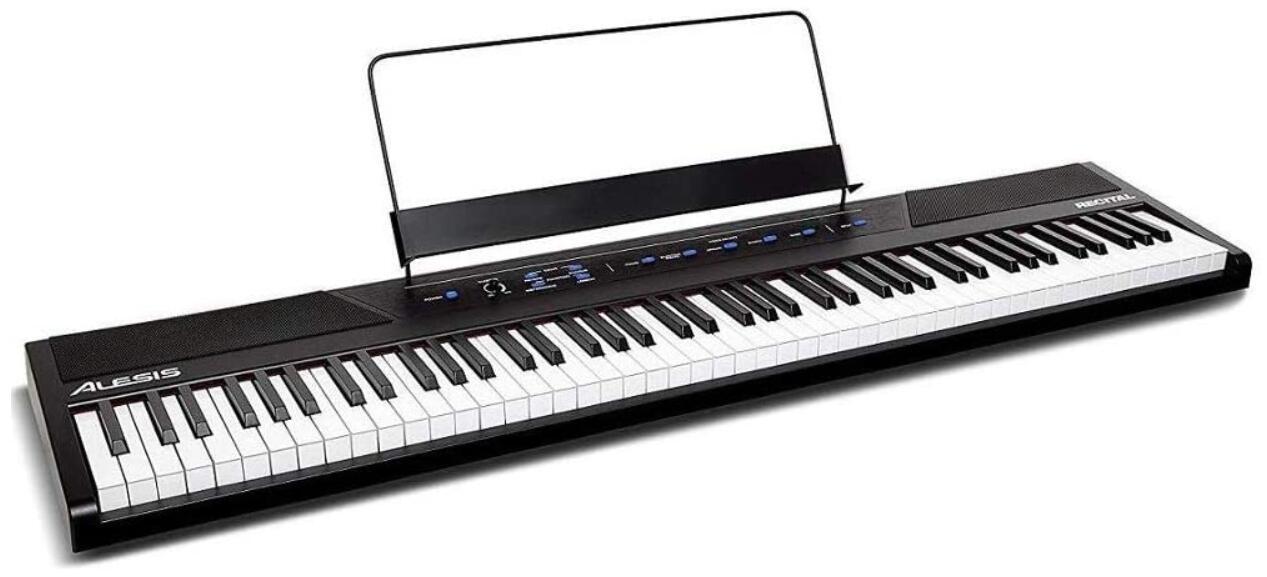 alesis recital 88 key digital piano