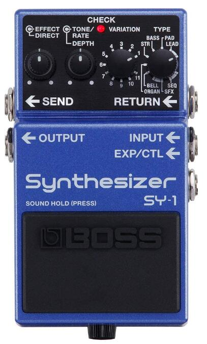 boss bass synth guitar pedal
