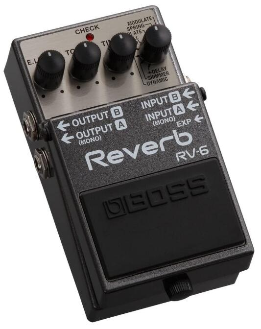boss reverb synth pedal