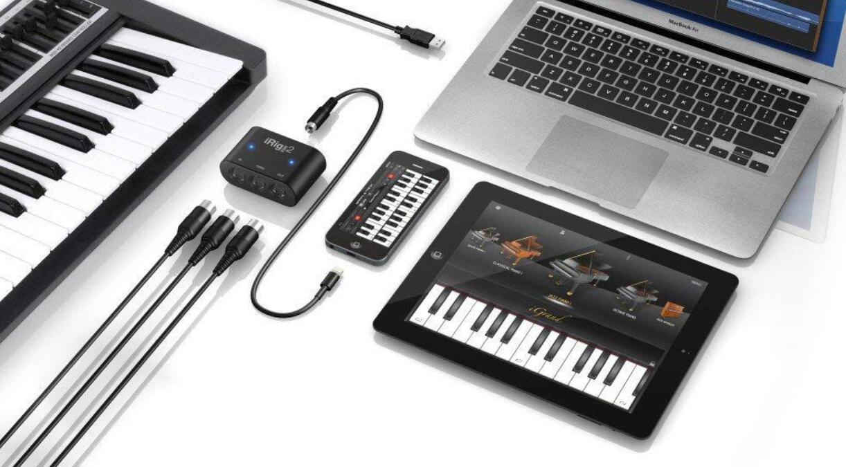 how to connect a midi keyboard to an ipad