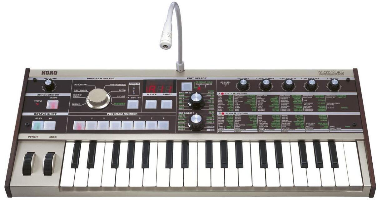 korg micro korg mini analog synth