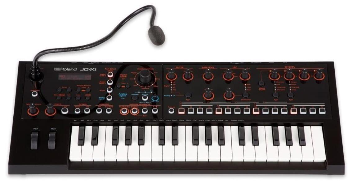 roland analog digital mini synth