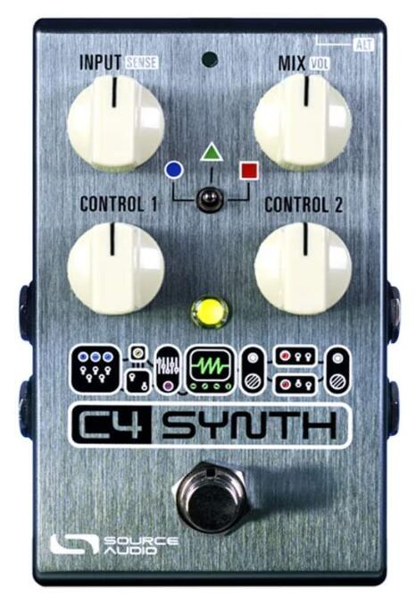 synth guitar effect pedal