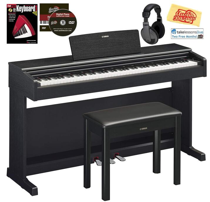 yamaha digital console upright piano