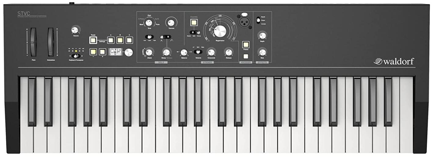 Waldorf string synthesizer