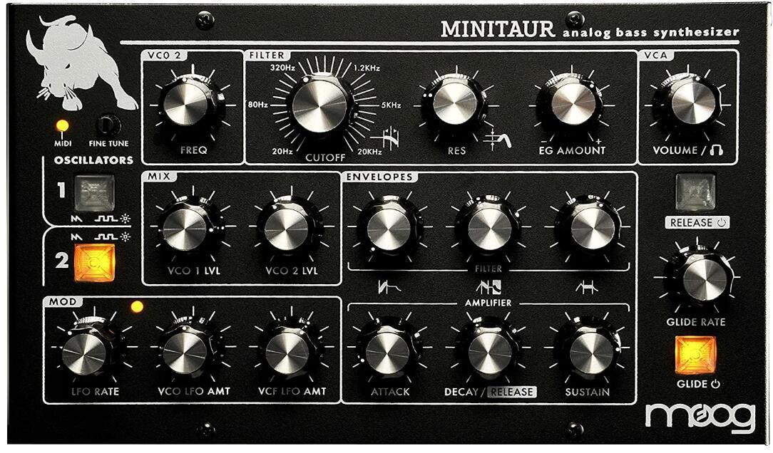 moog bass synthesizer