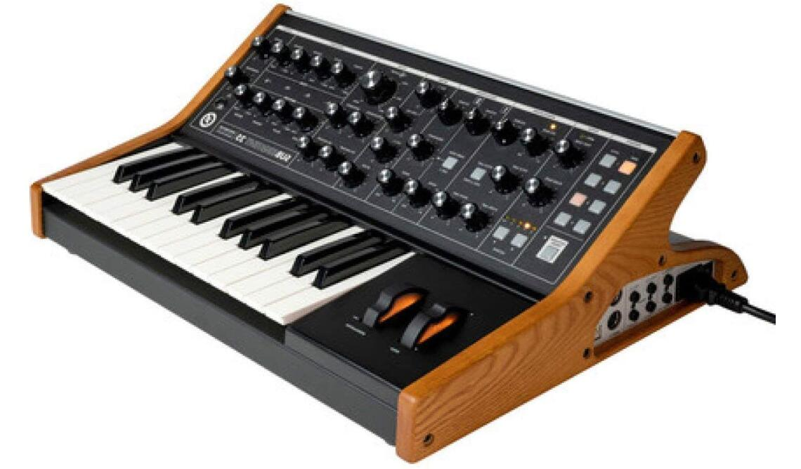 moog sebsequent 25 analog synth