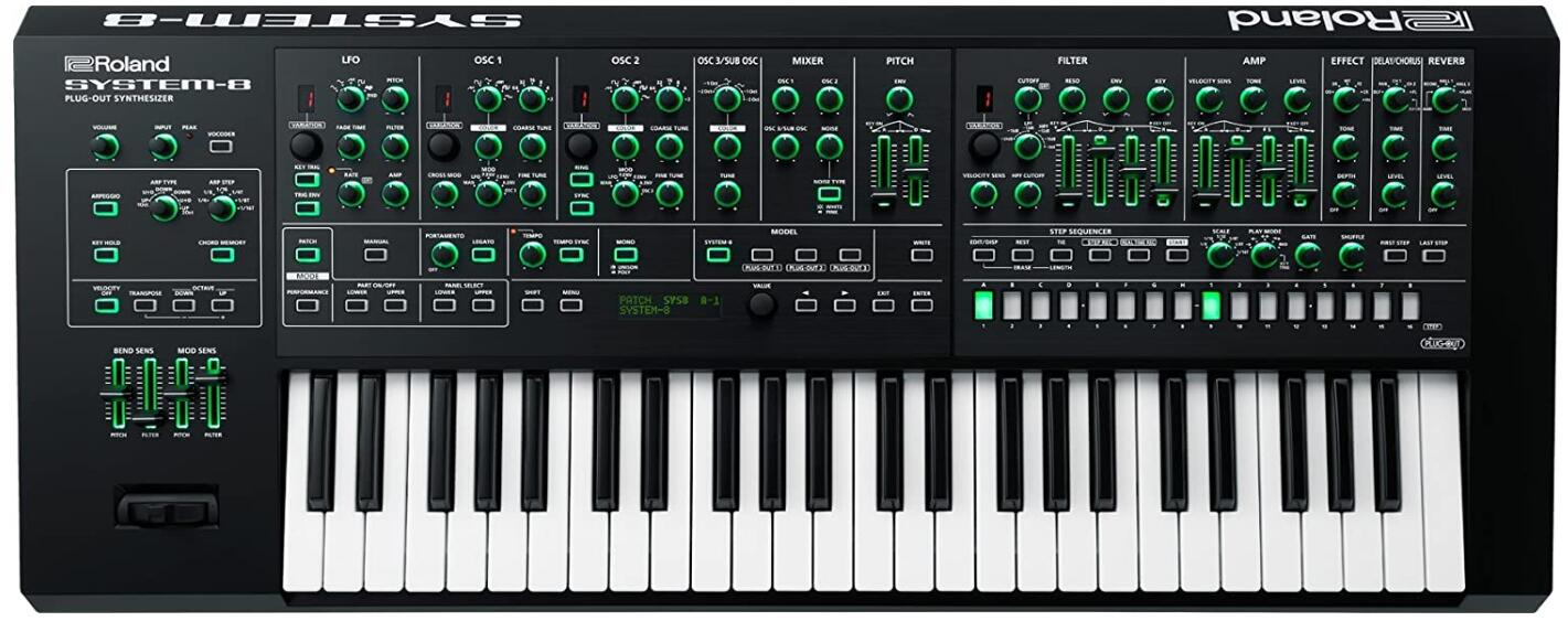 roland plug out synthesizer under 2000