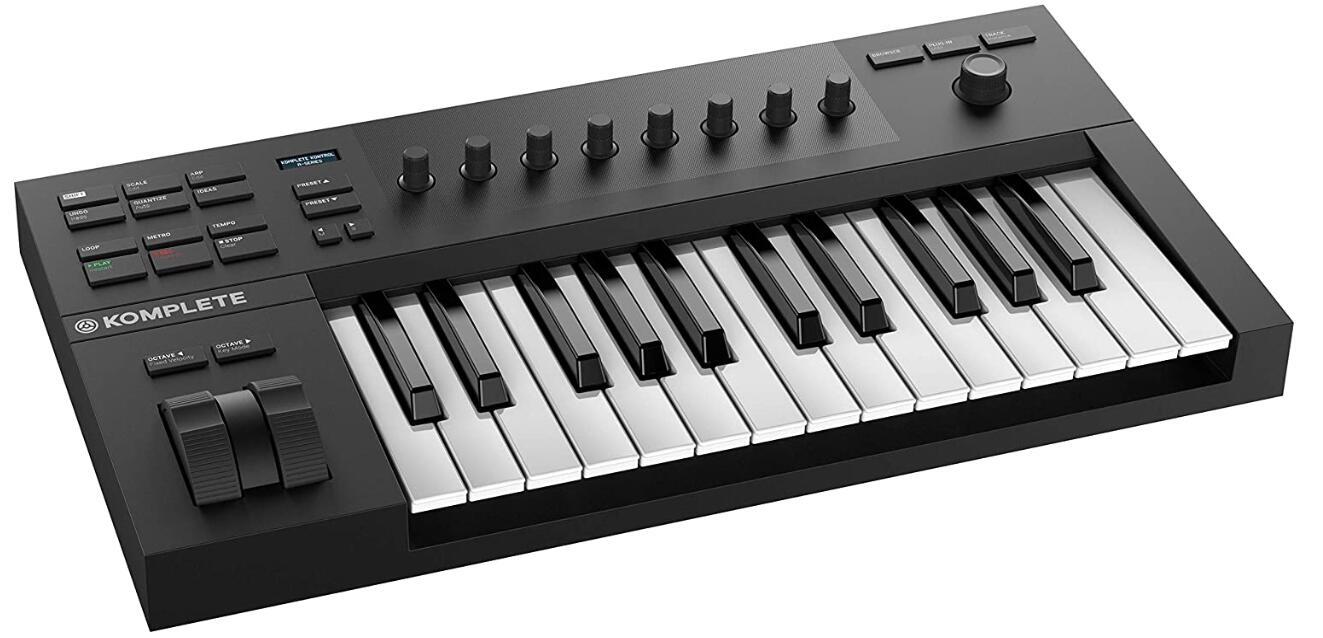semi weighted midi keyboard 200