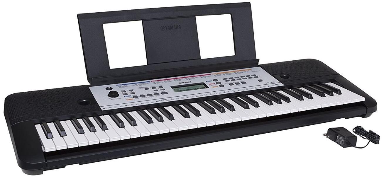 yamaha ypt 260 61 key keyboard piano