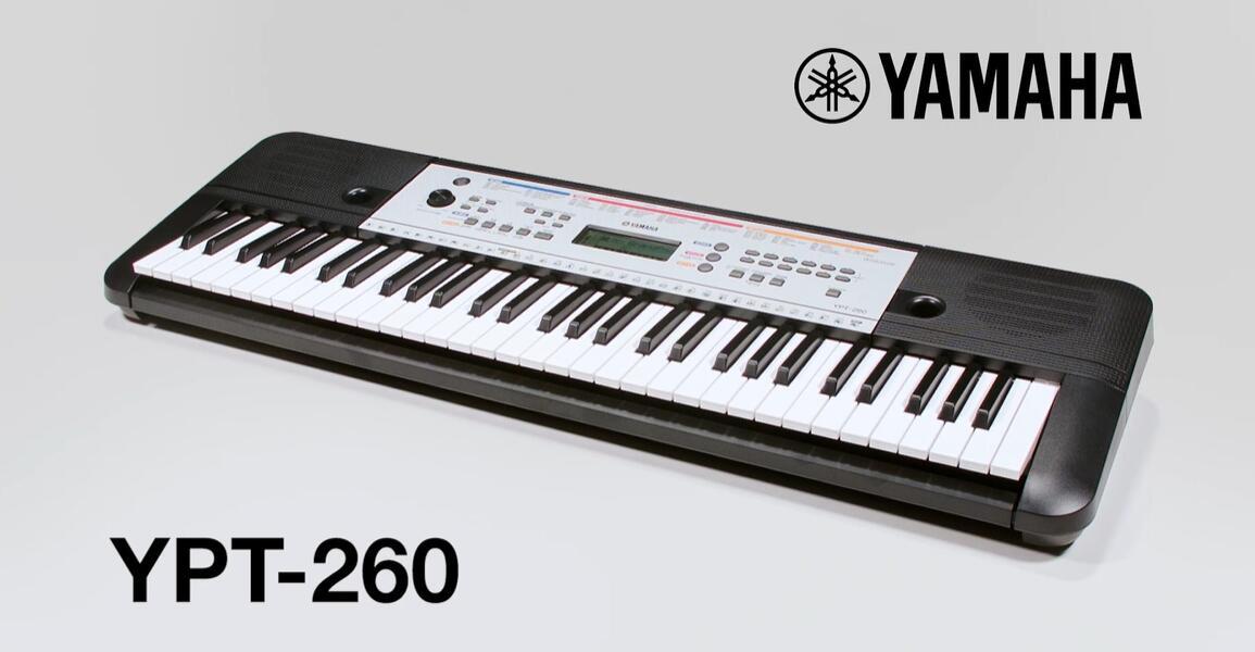 yamaha ypt 260 keyboard piano review