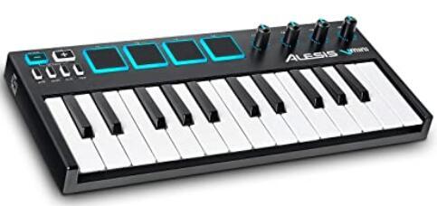portable 25 key midi controller under 100